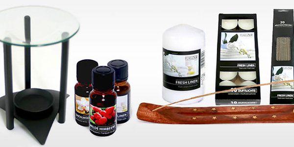 Aroma sety Goba – vůně jara ve vašem domovu