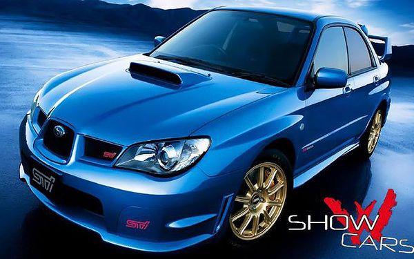 "30minutová jízda ""Rallye Challenge"" v Subaru Impreza"