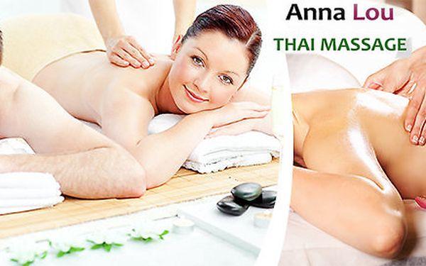 Thajské masáže dle výběru v salonu Anna Lou - délka 30 minut