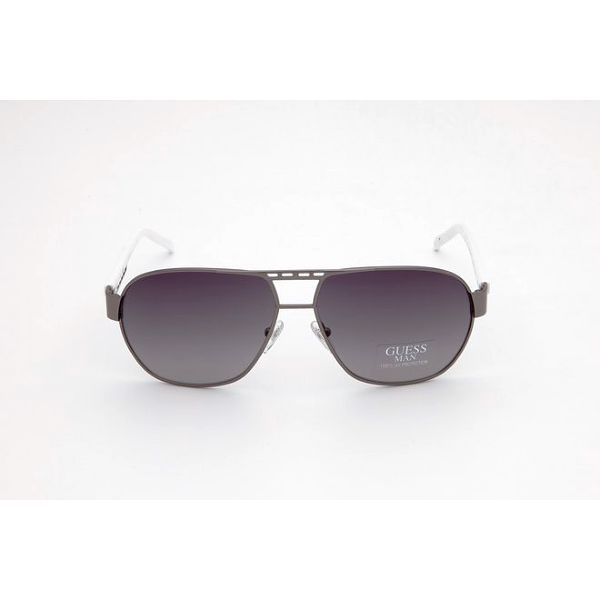 Dámské šedo-bílé sluneční brýle Guess
