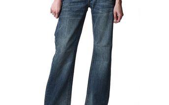 Dámské modré široké džíny Replay