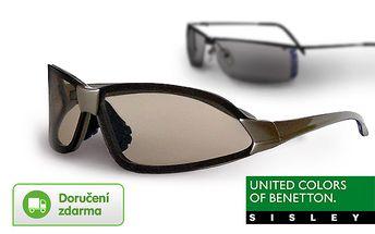 Unisex sluneční brýle Benetton a Sisley