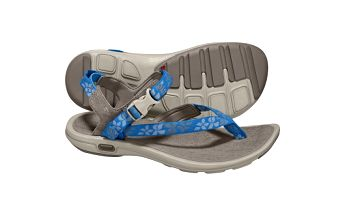 Dámská outdoorová obuv - Adidas LIBRIA SANDAL grey/silver/splash