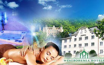 Wellness pobyt pro 2 osoby na 3 DNY v hotelu Subterrra***, v Ostrově u Karlových Varů za 1990 Kč! V ceně SNÍDANĚ, 3chodová VEČEŘE, WELLNESS (whirlpool, sauny, pára, relax zóna), KÁVA s KOLÁČKEM a další! Odpočinek se slevou 53%!