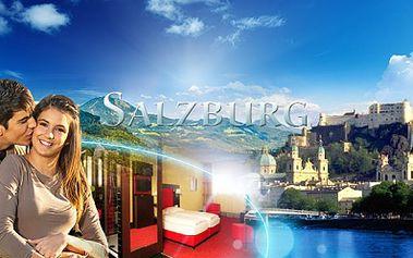 Rakousko! 3denní dovolená pro dva s luxusním ubytováním přímo v centru historického salzburgu za neodolatelnou cenu 3750 kč! V ceně bohatý snídaňový raut a sauna! Platnost voucheru do 3.4.2017!