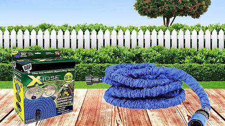 Flexibilní zahradní hadice Xhose - 7,5 m, 15 m, 22,5 m a 30 m