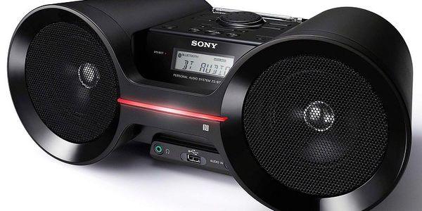 Přenosný přehrávač Sony ZS-BTY52 s podporou technologie Bluetooth 3.0