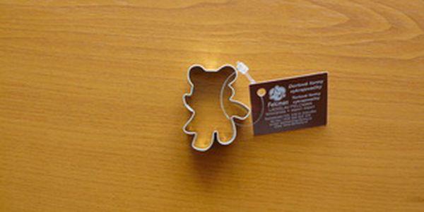 Vykrajovátko medvídek I (z pocínovaného potravinářského plechu)