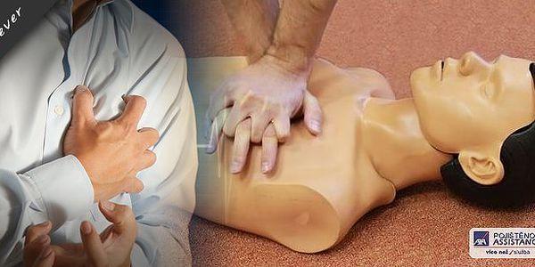 Kurz první pomoci při akutním infarktu myokardu a KPR. Obáváte se toho, že se někdy můžete setkat s člověkem, který bude mít akutní infarkt myokardu a vy nebudete vědět, jak máte pomoci? Anebo se chcete jen podobným skutečnostem vyvarovat?
