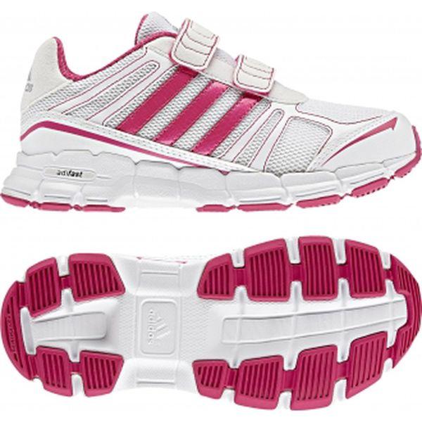 Dětská sportovní obuv - Adidas ADIFAST CF K bílá