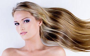 Fantastických 3000 Kč za prodloužení vlasů! 50 pramenů o délce 40 cm!