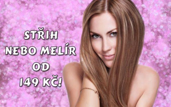 Populární kadeřnické služby s fantastickou slevou! Střih či melírování na všechny délky vlasů od 149 Kč! Stylové kadeřnictví BM beauty na Praze 7 u metra Vltavská.