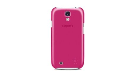 Belkin pevné plastové pouzdro pro Galaxy SIV, růžové F8M550btC02