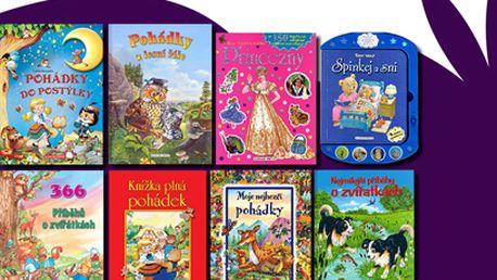 Krásné dětské knížky od 49 Kč!