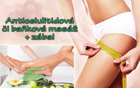 Zeštíhlující MASÁŽ DLE VÝBĚRU a hubnoucí nebo skořicový zábal! Zvolte si anticelulitidovou či baňkovou masáž, užívejte si hladké pokožky bez celulitidy! Ukažte štíhlé nohy po masáži ve studiu Beauty Smart v samém centru Prahy u stanice metra Náměstí Míru!