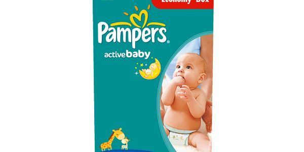 Pampers Active Baby 3 Midi - 112ks