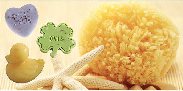 Dárkový balíček s mořskou houbou a přírodním mýdlem!