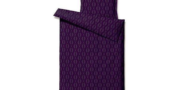 Povlečení Comfort Jive Lila, na dvojlůžko (200x220 cm)