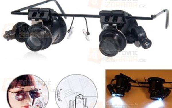 Zvětšovací brýle s 20x přiblížením a poštovné ZDARMA! - 14306658