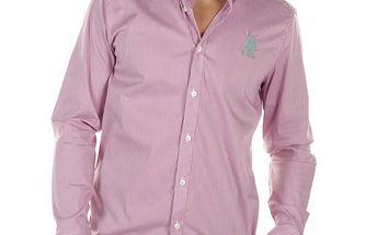 Pánská růžově kostičkovaná košile Bendorff Next