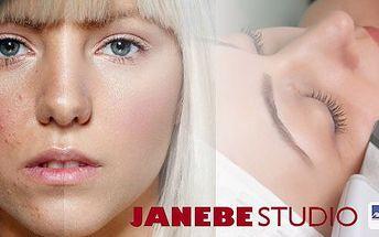 Studio Janebe přímo u metra C Budějovická v Praze! Ultrazvukové čištění mastné a aknózní pleti, maskou a se zábalem rukou! Přestaňte se trápit pupínky a rozšířenými póry!