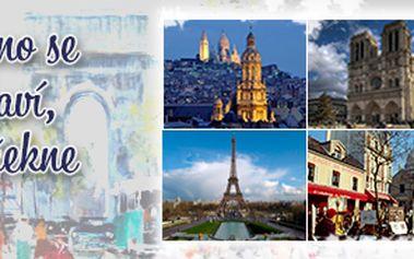 Paříž - poznávací zájezd