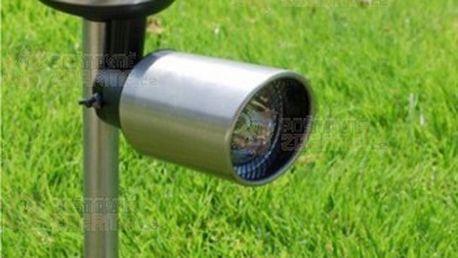 3 LED venkovní solární lampa s nastavitelnou svítilnou a poštovné ZDARMA! - 13409314