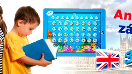 3D dětský tablet pro výuku angličtiny