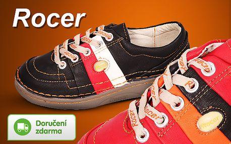 Dámská kožená obuv Rocer
