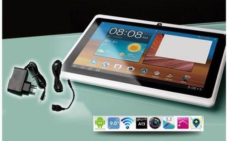 Multimediální 7 palcový tablet Q88 OS Android 4.0. Multimediální vychytávka s nadstandardní výbavou.