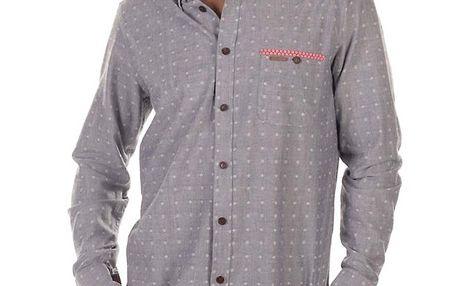 Pánská šedá košile s drobným vzorkem Bendorff Next