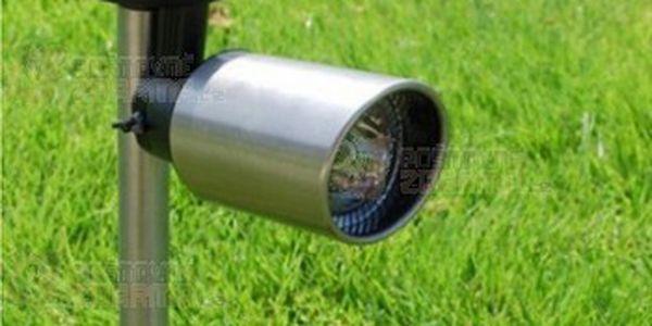 3 LED venkovní solární lampa s nastavitelnou svítilnou a poštovné ZDARMA! - 11409314