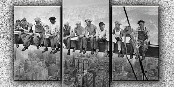 Delníci na traverze