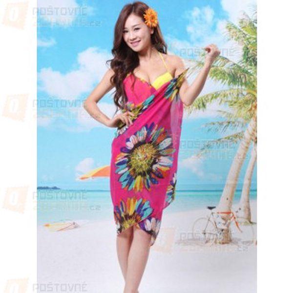 Letní šaty na pláž - na výběr ze 6 barev a poštovné ZDARMA! - 10809323