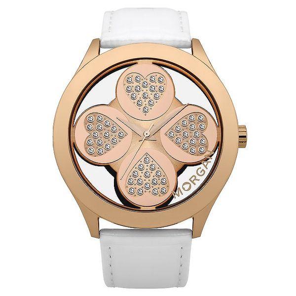 Dámské srdcové hodinky Morgan de Toi