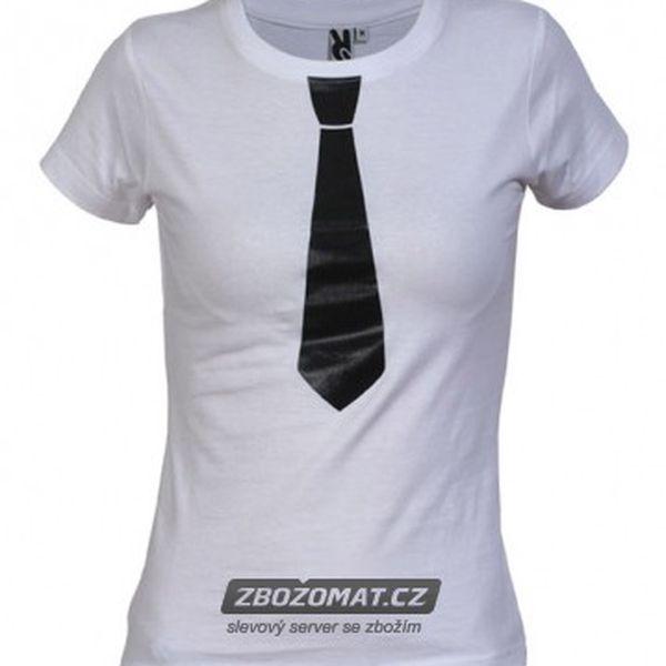 Tričko s kravatou - pánské i dámské!