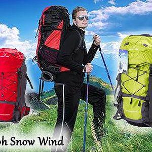 Expediční nepromokavý batoh Snow Wind s kapsami. Batoh do extrémních podmínek! Nepromokavý materiál, kompresní popruhy, ergonomické výztuže a odvětrávací systém bránící vlhkosti. Batoh se skvěle hodí na expedice, trekking nebo cestování.