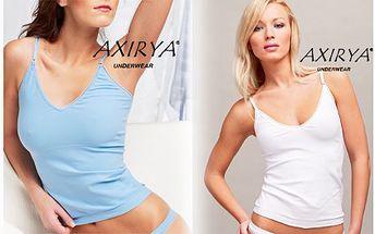 Set bezešvého spodního prádla (tílko a kalhotky) z kvalitního a pohodlného materiálu. Tílko má posunovací ramínka a nádherně drží tvar. Dodejte si pocit sebevědomí s krásným prádlem!