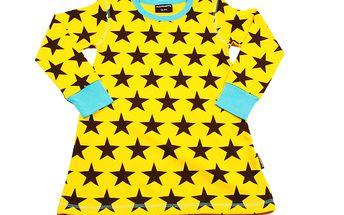 Žlutá tunika s hvězdami