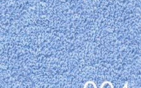 Smolka prostěradlo Froté světle modré 90x200