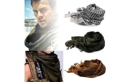 Šátek pro muže ve vojenském stylu a poštovné ZDARMA! - 11009361