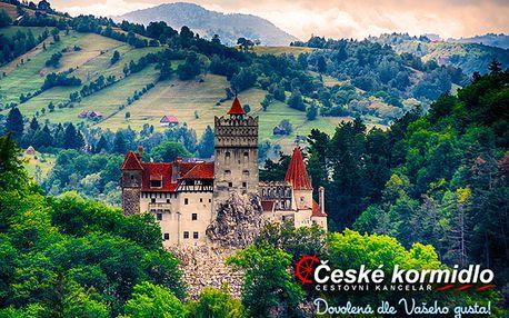 Zájezd do Rumunska po stopách Drákuly