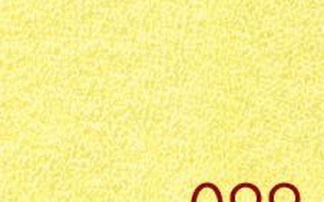Smolka prostěradlo Froté citrónové 90x200