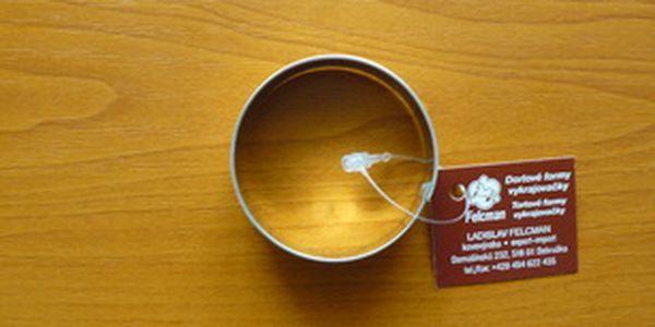 Vykrajovátko kolečko velké (z pocínovaného potravinářského plechu)