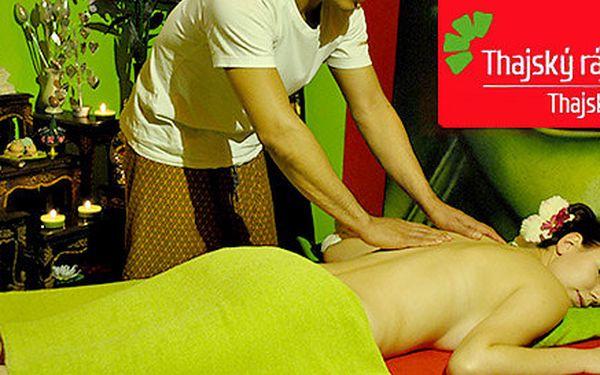 Výběr z masáží v salonech THAJSKÝ RÁJ