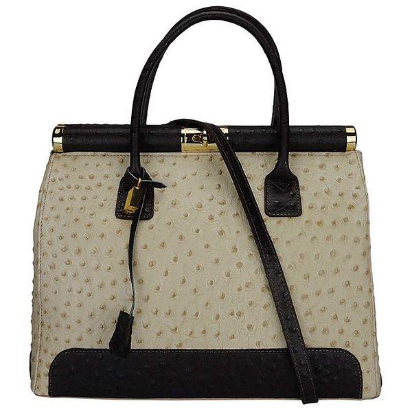 Dámská kufříková kabelka s popruhem Giulia