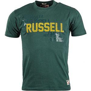 Pánské tričko - Russell Athletic T-SHIRT MEN zelená M