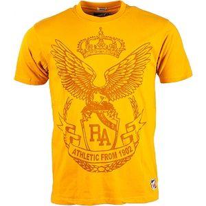 Pánské tričko russell athletic canterbury tee 5 men oranžová