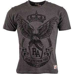 Pánské tričko russell athletic canterbury tee 5 men šedá