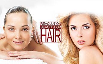 2,5 hodinový balíček PLNÝ RELAXACE! Kadeřnický balíček, manikúra i masáž! To vše za pouhých 547 Kč v Revolution Hair v Děčíně! Ideální dárek ke Dni matek!